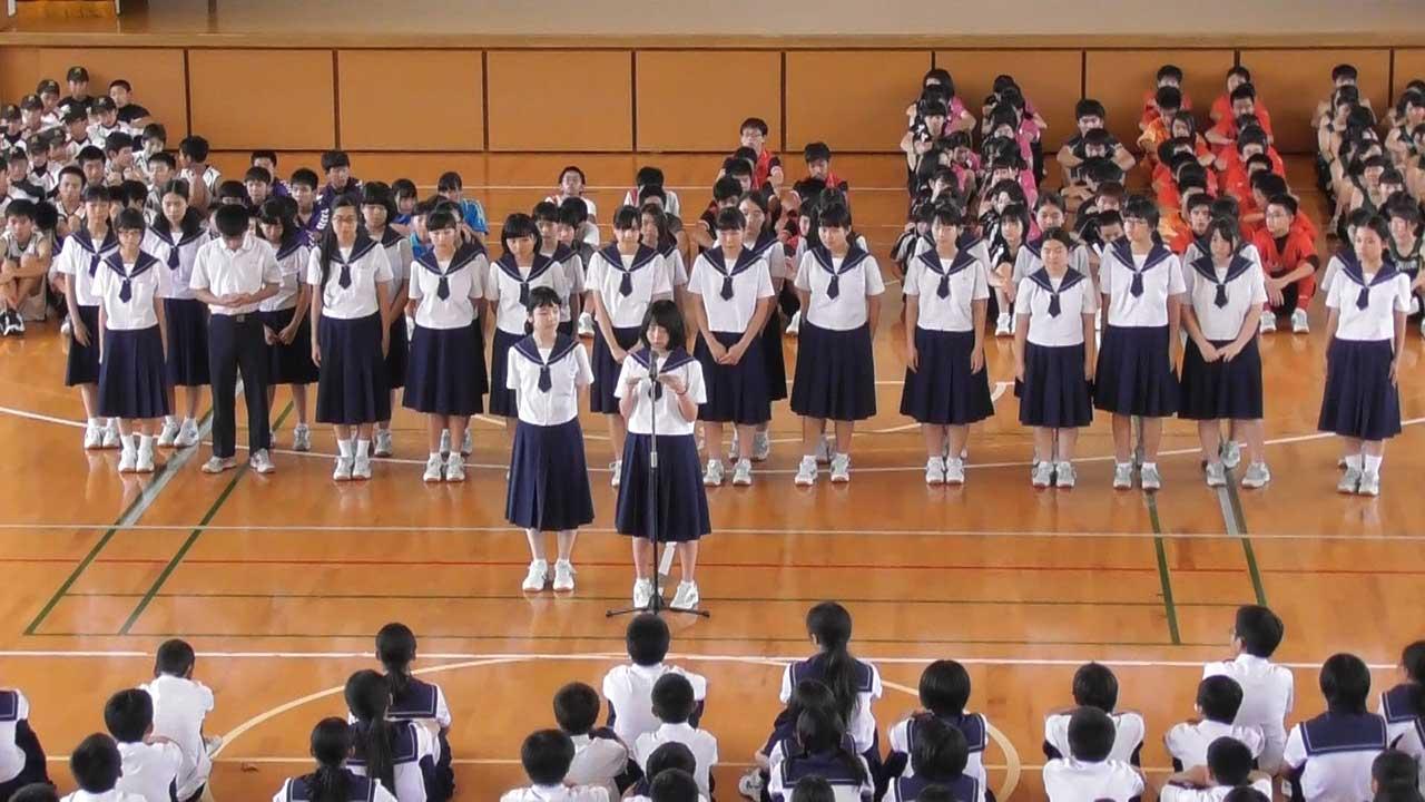那珂川北中学校 そよかぜフェスタ出演 那珂川北中学校・吹奏楽部