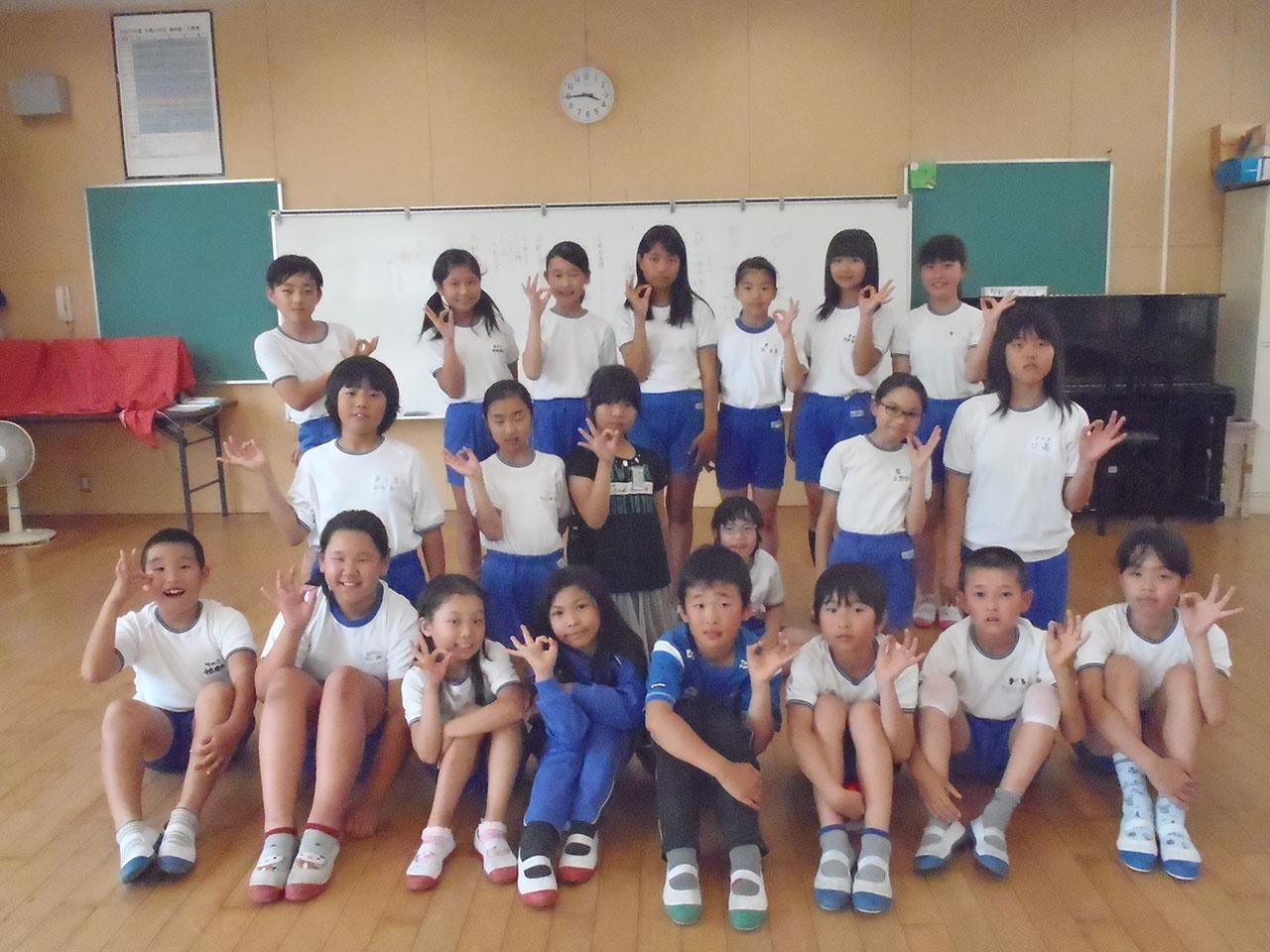 那珂川北中学校 そよかぜフェスタ出演 片縄小学校ダンスクラブ